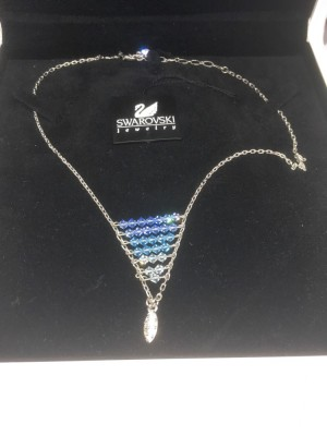 A vintage Swarovski crystal necklace