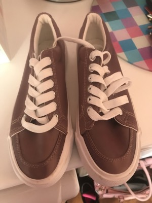 Girls brand new new look rose gold pumps size 3