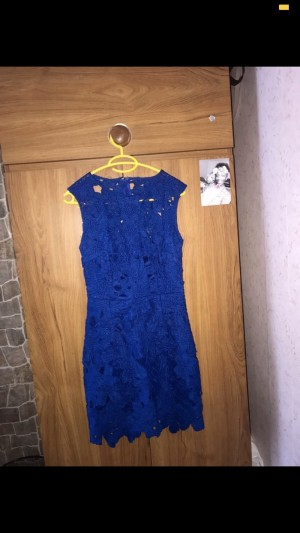 Missguided Blue Dress. Size 10