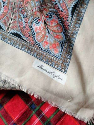 Laura Borghese vintage scarf