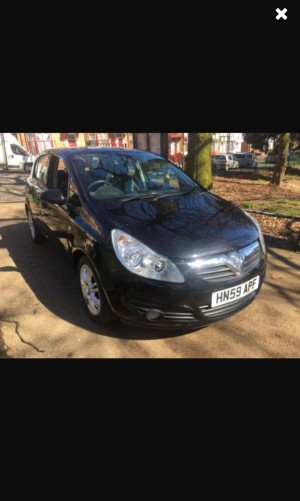 Automatic vaxhall Corsa for sale