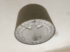 Crystal ring Lampshade