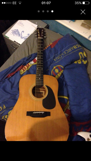 400th HOHNER acoustic full size guitar