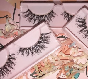 handmade Demi wispy style lashes - synthetic minx