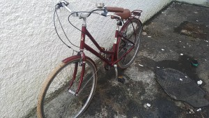 VP red bike