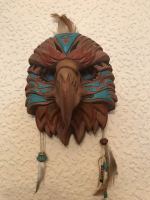Native American Mask 1of5