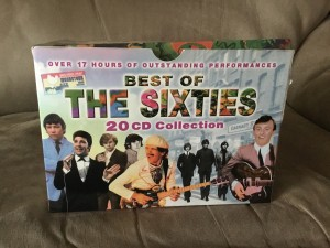 Best of the 60's cd's