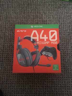 Astro A40 headset with M80 mixamp