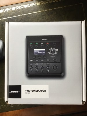 Bose T4S ToneMatch mixer with power unit