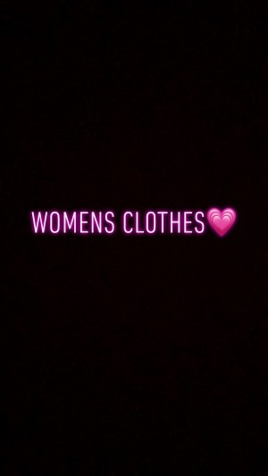 Womens clothes x