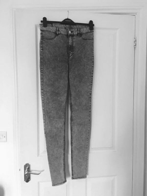 New look super skinny jeans size 12