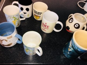 Various Cups Mugs