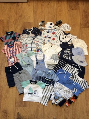 0-3 Month Old Boys Clothes