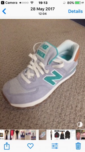 Women's New Balance Trainers size 5