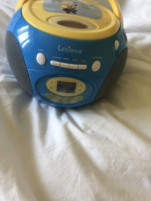 LexiBook Minion CD Player with Radio