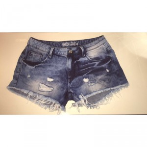 'Green Coast' Denim Shorts, Size 8-10