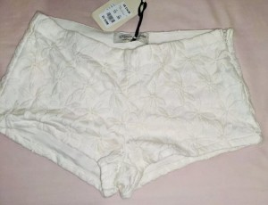 Handcrafted Lace Shorts-10 - free shipping