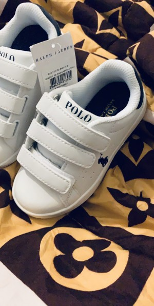 NEW!!!  Polo Ralph Lauren kids trainers