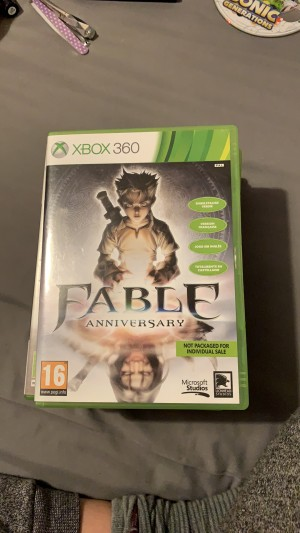 Fable anniversary Xbox 360 game