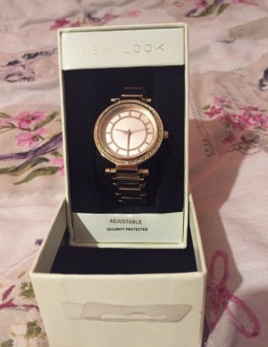 New look watch   Never worn - brand new   Comes in box   Message me