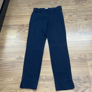 H&M size 8 navy pinstripe trousers