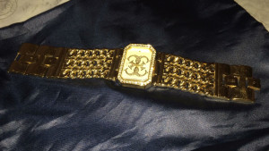 Guess watch golden good condition £70