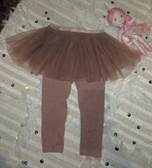 Mauve next tutu leggings 1.5-2yrs