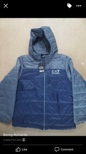 Jackets ea7 £40 can do a deal for a couple all sizes avalable