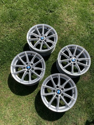 "Bmw 17"" alloys in good condition"