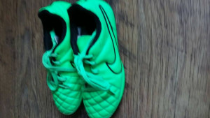 Size 12,5 Nike Tiempo football boots