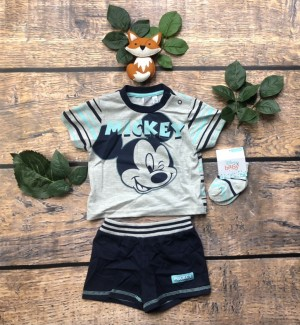 Baby boys Mickey Mouse set 3-6m