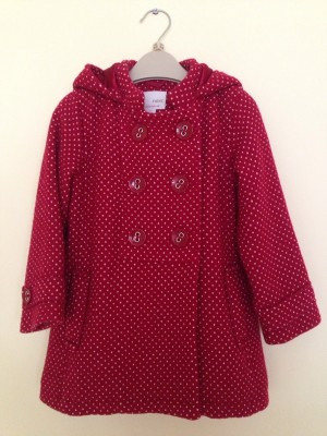 Girl's coat,Next,2-3 years