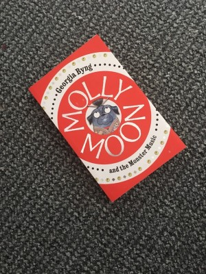 Molly Moon and the monster music by Georgia Byng