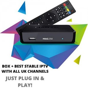 PLUG IN AND PLAY ALL UK CHANNELS ( 12 months of sky ) no contract!