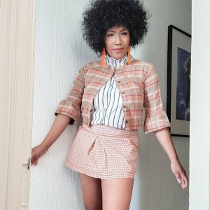 Vintage 1980s Cropped Shirt
