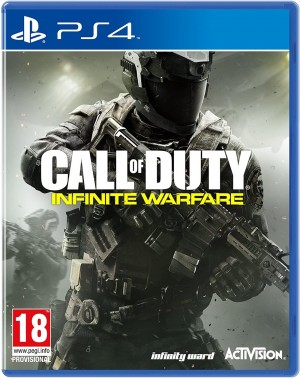 Call of duty infinite warfare ps4 disk