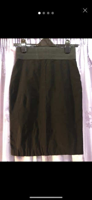 Black ASOS pencil skirt size 10