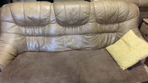 3+2 real leather used +table it cast 4500when I bought