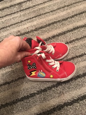 Minnie mouse trainers
