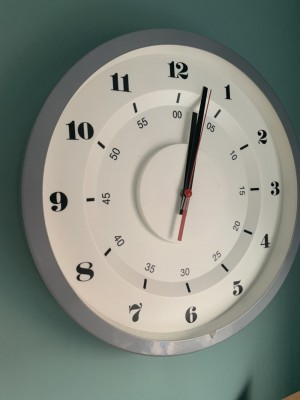 Grey clock needs new mechanism