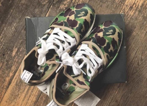 BAPE/NMD trainers genuine receipt to prove size 7