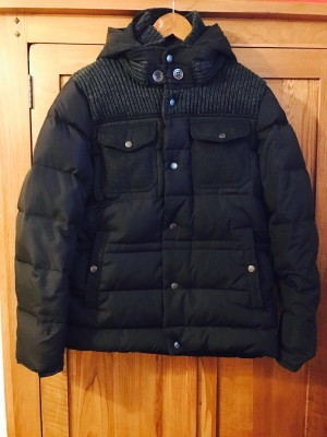Gianni Feraud winter down jacket