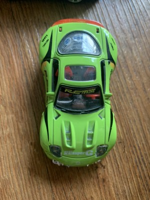 Extreme toy car like green
