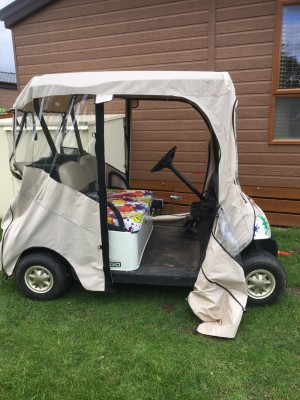 2 Seater Hard Top Ezgo Golf Buggy