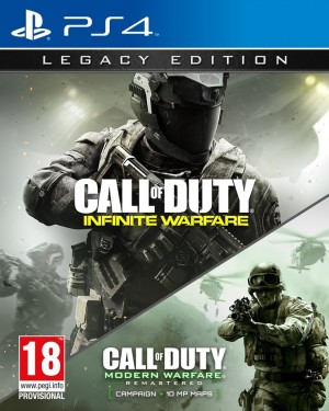 PS4/PlayStation 4 Game - Call Of Duty Infinate Warfare With Free Game