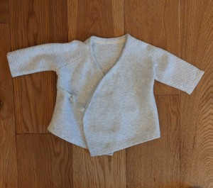 Baby cardigan - ages 3-6 months