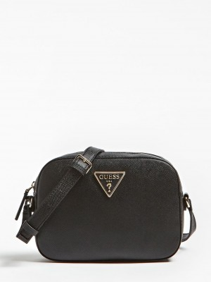 100% Genuine Guess Crossbody bag in Black Original price over £85 My