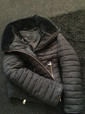 Women's zara quilted coat