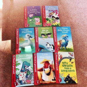 Read it Yourself Ladybird Books Level 1 Bundle Set of 8 - Peppa Pig Re