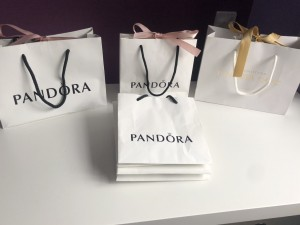 Genuine Pandora Bags and Boxes (24 items)
